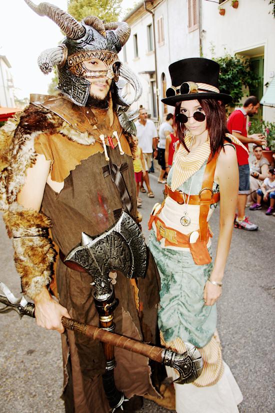 Steampunk @ Unicorn Festival 2012 / Festa dell'Unicorno / Vinci