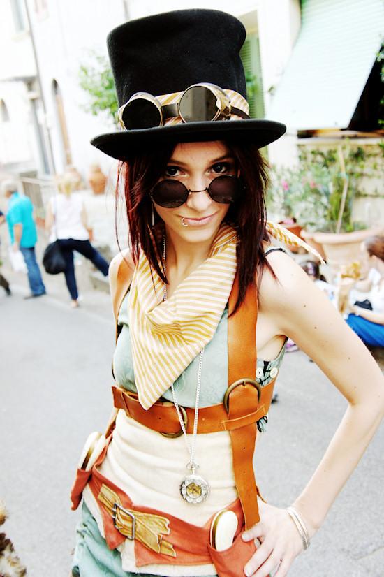 Steampunk Outfit @ Unicorn Festival 2012 / Festa dell'Unicorno / Vinci