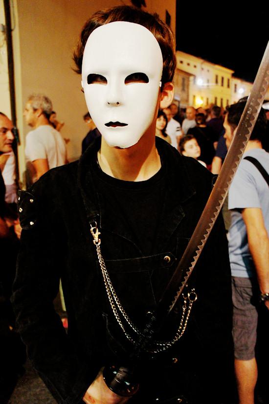 Claudio in Goth Outfit @ Unicorn Festival 2012 / Festa dell'Unicorno / Vinci