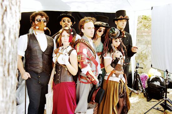 Steampunk Gang @ Unicorn Festival 2012 / Festa dell'Unicorno / Vinci