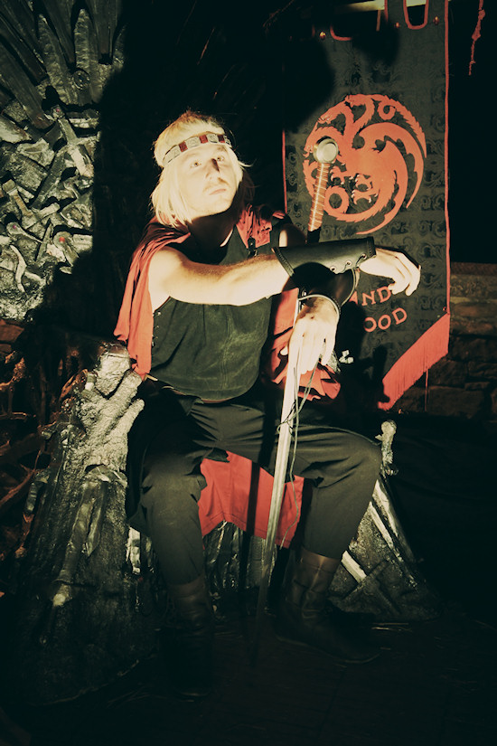 "Game of Thrones"" Throne @ Unicorn Festival 2012 / Festa dell'Unicorno / Vinci"