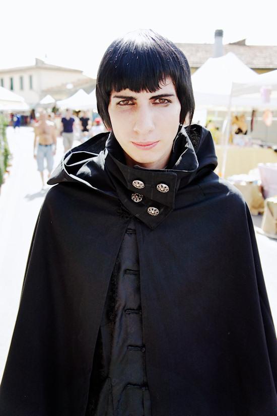 Goth Dracula @ Unicorn Festival 2012 / Festa dell'Unicorno / Vinci