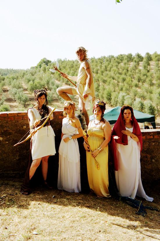 Greek Warriors @ Unicorn Festival 2012 / Festa dell'Unicorno / Vinci