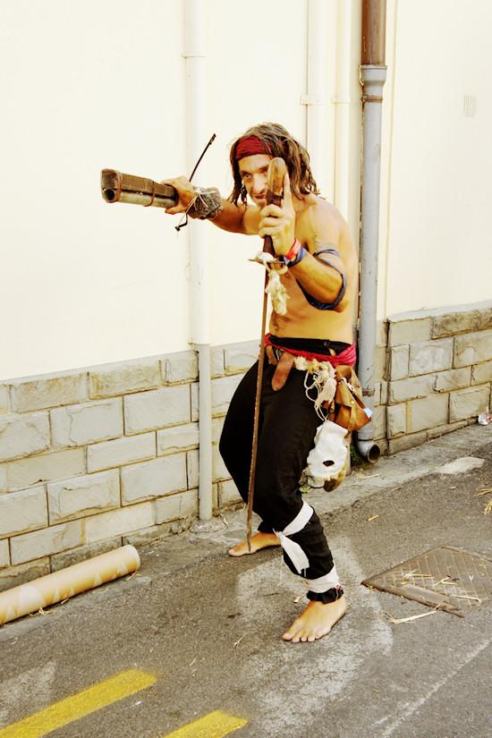 Pirate with weopons @ Unicorn Festival 2012 / Festa dell'Unicorno / Vinci