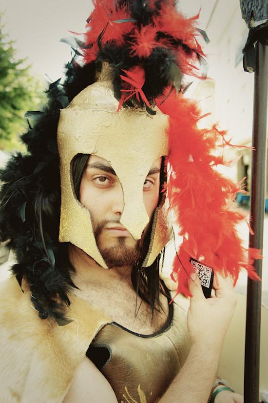300 Male Soldier @ Unicorn Festival 2012 / Festa dell'Unicorno / Vinci