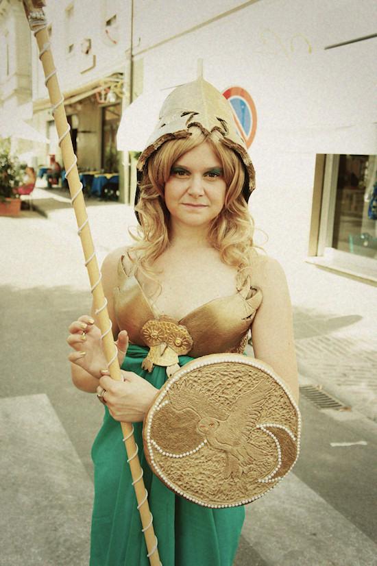 300 Female Soldier @ Unicorn Festival 2012 / Festa dell'Unicorno / Vinci