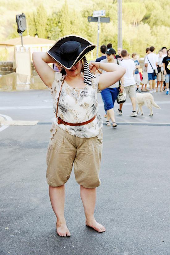 Female Pirate @ Unicorn Festival 2012 / Festa dell'Unicorno / Vinci