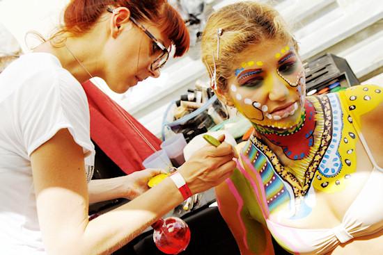 Bodypainting @ Unicorn Festival 2012 / Festa dell'Unicorno / Vinci