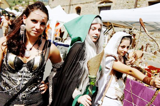 Archers @ Unicorn Festival 2012 / Festa dell'Unicorno / Vinci