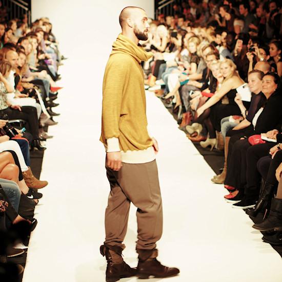 Stefan Maierhofer @ Urban Fashion Night by Mario Soldo. Vienna Fashion Week 2013.