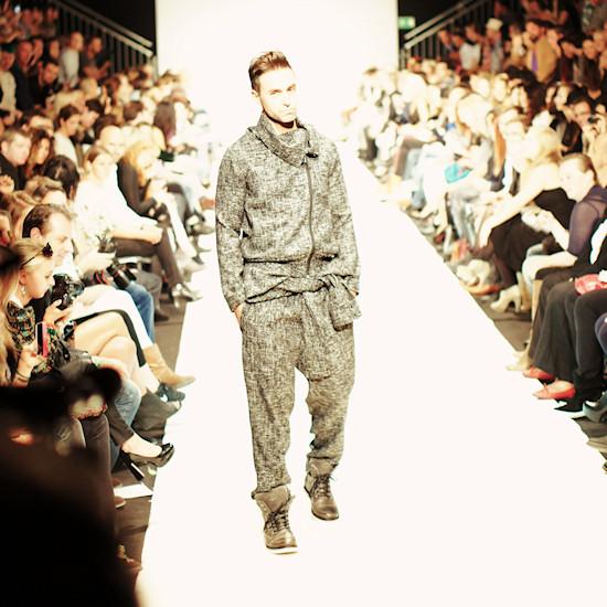 Ibrahim Tosun @ Urban Fashion Night by Mario Soldo. Vienna Fashion Week 2013.