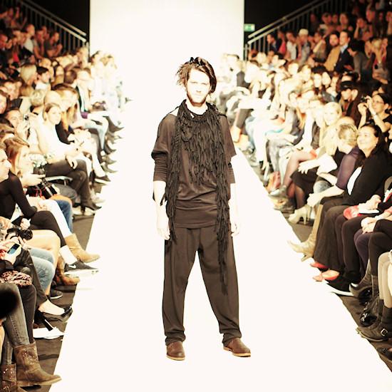 Mark Stephen Baigent @ Urban Fashion Night by Mario Soldo. Vienna Fashion Week 2013.