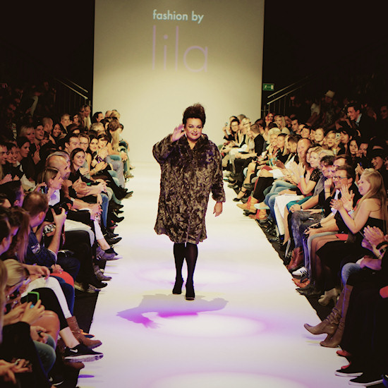 Susanne Widl @ Urban Fashion Night by Mario Soldo. Vienna Fashion Week 2013.