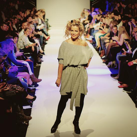 Evelyn Rillé @ Urban Fashion Night by Mario Soldo. Vienna Fashion Week 2013.
