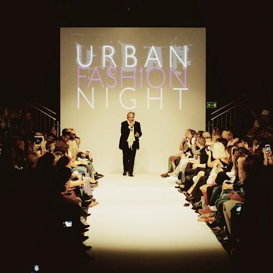 Mario Soldo opening the Urban Fashion Night. Vienna Fashion Week 2013.