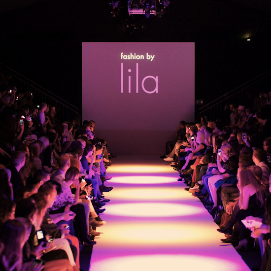 Fashion Show by lila. Urban Fashion Night by Mario Soldo. Vienna Fashion Week 2013.