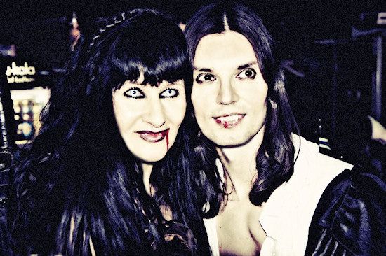 Vampires Ball @ Viper Room: Vampire-esque Xena and Vampire Viktor