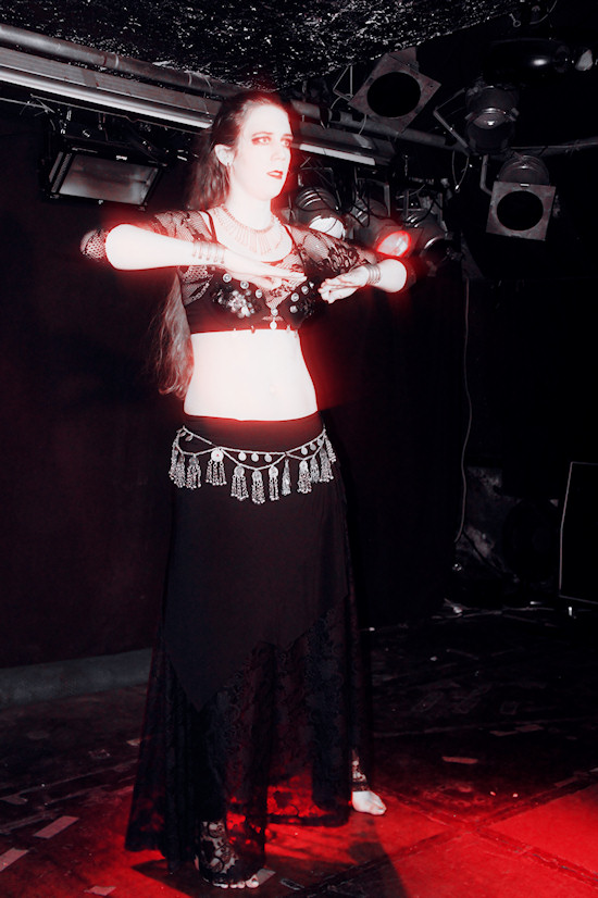 Vampires Ball @ Viper Room: Tribal Fusion Bellydance by CarNika