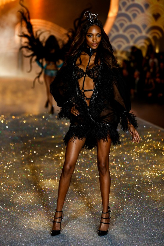Jourdan Dunn @ Victoria's Secret Fashion Show 2013