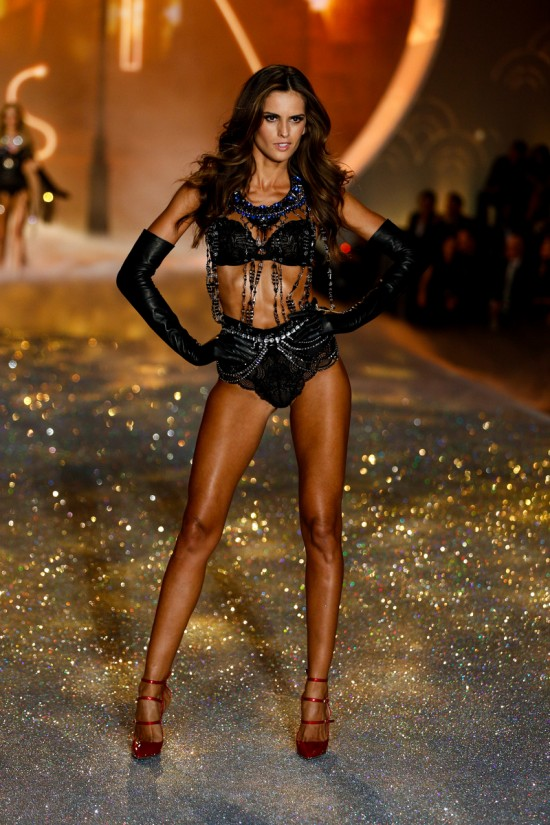Izabel Goulart @ Victoria's Secret Fashion Show 2013