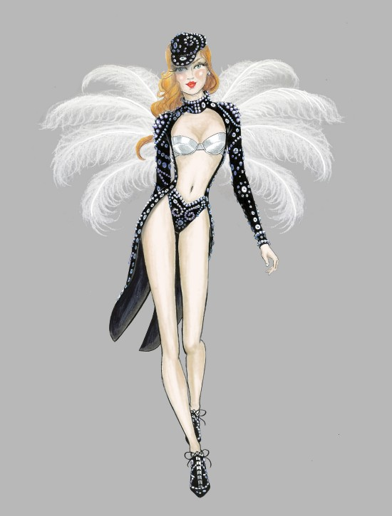 Fashion Illustration British Invasion @ Victoria's Secret Fashion Show 2013