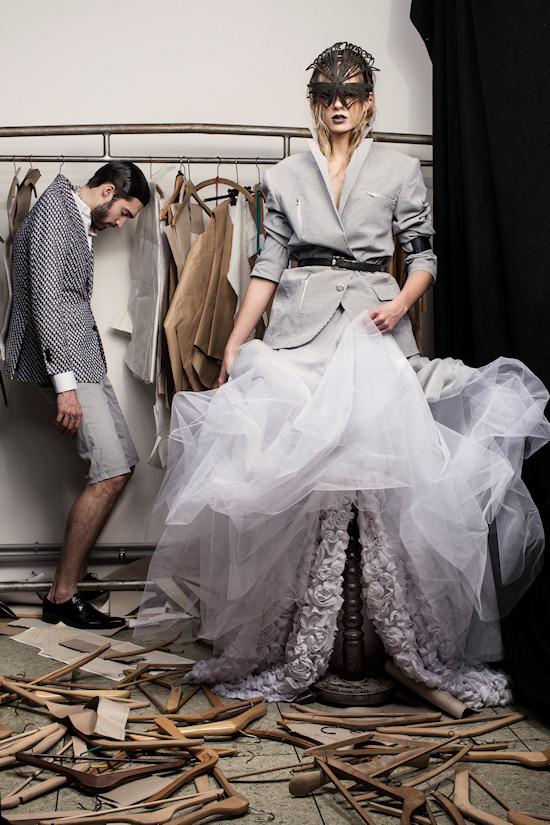MQ Vienna Fashion Week 2013 Shooting by Mato Johannik