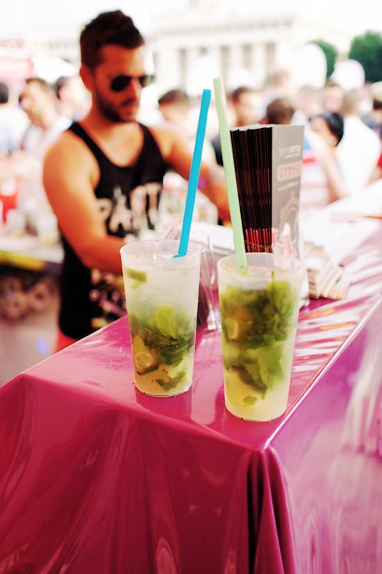 Mojito Cocktails @ Vienna Pride Village 2013.