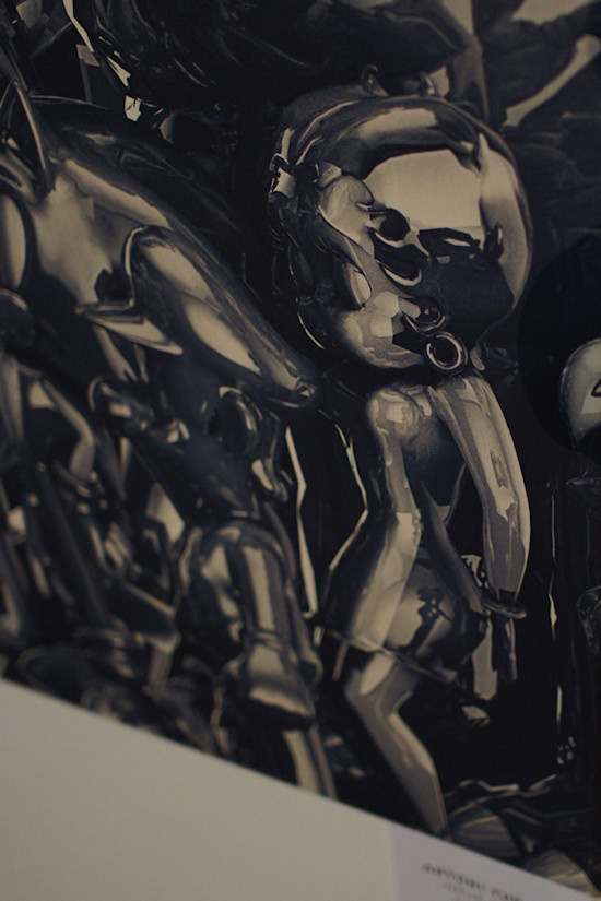"""Neue Schule vs. Retro"" (New School vs Retro) by Antoni Tudisco @ We Love 8-Bit exhibition Vienna"
