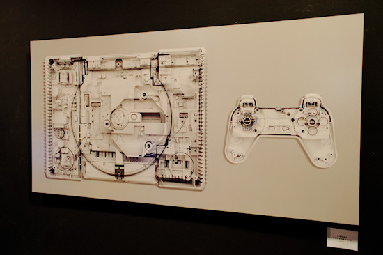 """PS1"" (PlayStation 1) by Georg Bodenstein @ We Love 8-Bit exhibition Vienna"