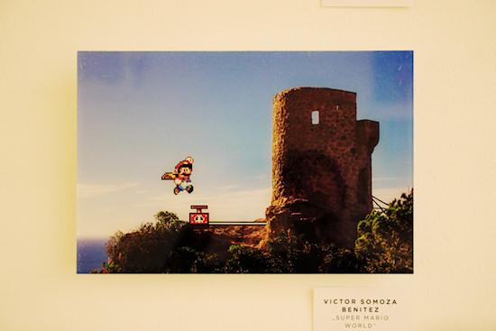 """""""Super Mario World"""" by Victor Somoza Benitez @ We Love 8-Bit exhibition Vienna"""
