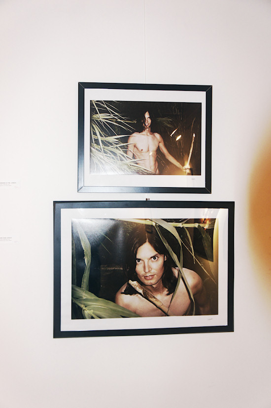Undressed Tarzan in the sugar cane jungle @ Xena's Photo Art Exhibition