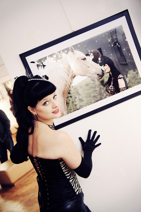 Model Lily LaRose @ Xena's Photo Art Exhibition