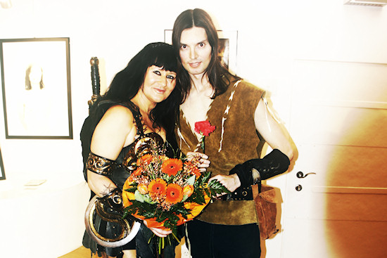 Xena and Hercules @ Xena's Photo Art Exhibition