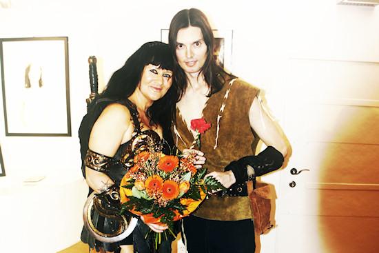 Xena and Hercules @ Xena's Photo Art Exhibition