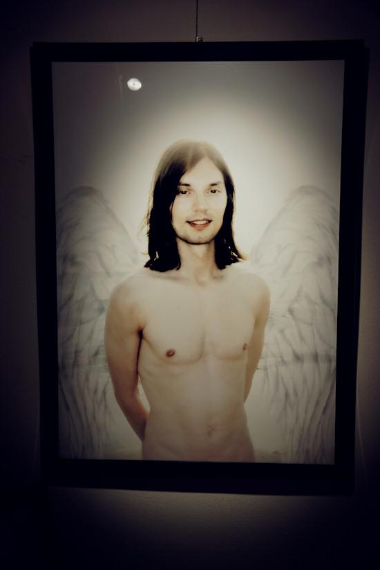 Male Angel Portrait @ Xena's Photo Art Exhibiton