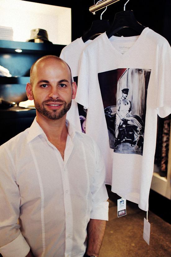 Artist Manfred Paar @ XXX Man Exhibtion   Tiberius