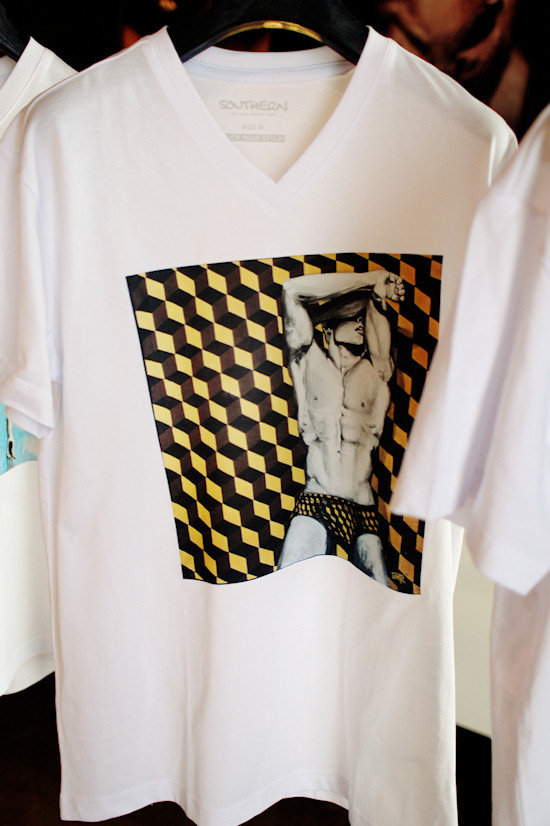 Erotic Male T-shirt by Manfred Paar @ XXX Man Exhibtion   Tiberius
