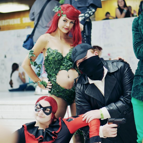 Poison Ivy cosplay @ Comics Salon 2014