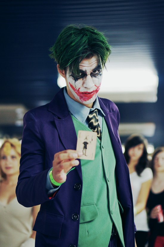 The Joker cosplay @ Comics Salon 2014