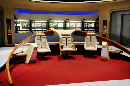 USS Enterprise NCC-1701-D bridge @ Destination Star Trek Germany
