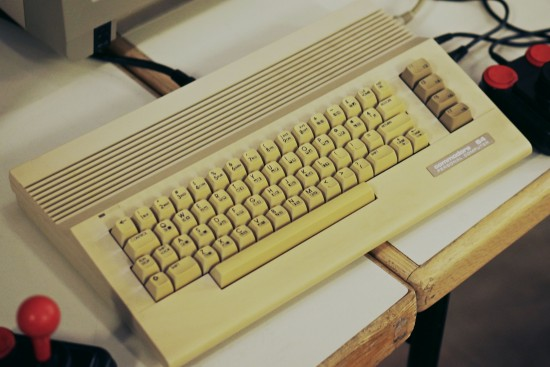 Commodore 64 C64c @ Game City 2014