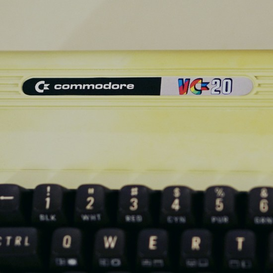 Commodore VC20 logo @ Game City 2014