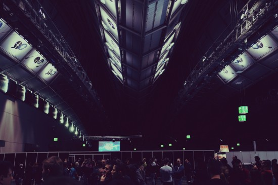 Con hall Messe Frankfurt @ Destination Star Trek Germany Convention 2014 Frankfurt