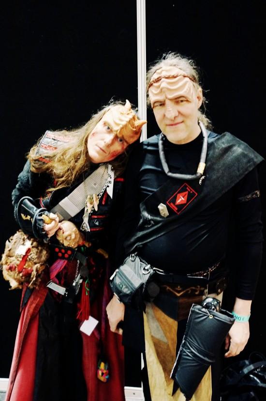Klingons @ Destination Star Trek Germany Convention 2014 Frankfurt