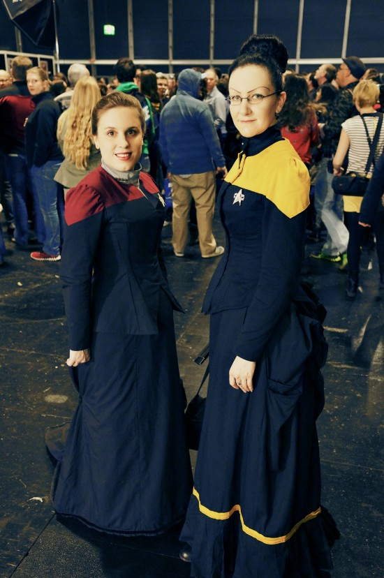 star Trek victorian uniforms @ Destination Star Trek Germany 2014