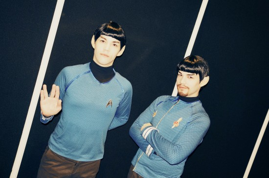 Spock cosplay @ Destination Star Trek Germany 2014