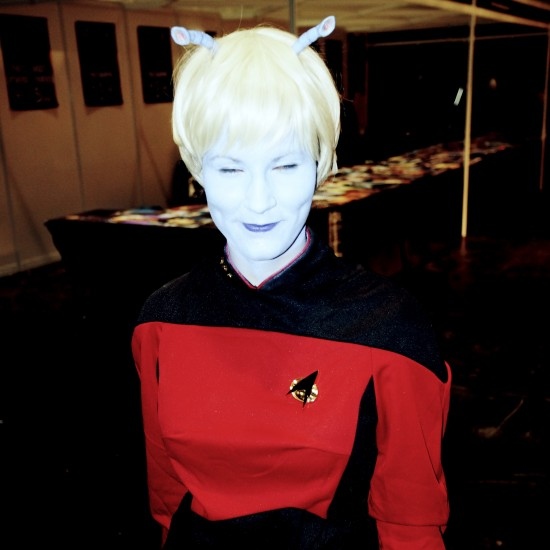 Star Trek Andorian @ Destination Star Trek Germany 2014