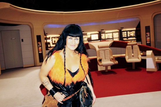 Xena as Nona (from the original series) @ Destination Star Trek Germany 2014