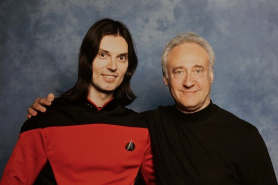Lt. Commander Viki and Brent Spiner aka Data @ Destination Star Trek Germany 2014
