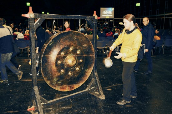 Klingon gong @ Destination Star Trek Germany 2014
